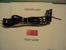 Technics SL-1200MK2 AC Line Cord w/ 220 to 110 VAC Adapter. Parting SL-1200MK2