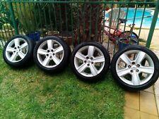 FORD FALCON GENUINE BA XR8 XR6 Turbo SR GHIA 4 X 17 inch wheels & Tyres VGC