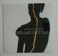 LISA STANSFIELD : LET'S JUST CALL IT LOVE (3 VERSIONS) ♦ CD Single NEUF / NEW ♦