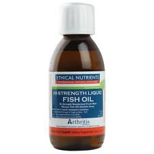 Ethical Nutrients Liquid Fish Oil Mint 170ML Strength omega-3 supplement
