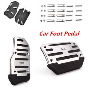 Awesome Non Slip Car Automatic Transmission Pedal Cover Brake Clutch Accelerator