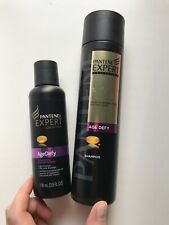 NEW Pantene EXPERT PRO-V AGE DEFY Shampoo 8.5oz PLUS travel size 3.9oz