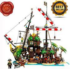 Ideas Pirates of Barracuda Bay building blocks bricks Compatible boys toy 21322