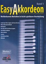 Easy Akkordeon Band 1 (1. Stimme) Noten leicht bis Mittel