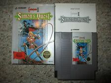 Castlevania II 2: Simon's Quest (Nintendo NES, 1988) Complete FAIR