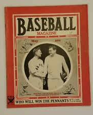 1935 May Baseball Magazine Babe Ruth Cover