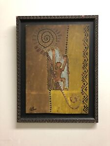 Australian Aboriginal Painting from 1960/70's  Signed