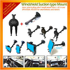 Windshield Suction Mount/short+Allinone Universal Holder 4 tablets,smartphones