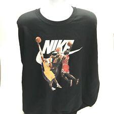 Black Sweatshirt Nike Size 5 XL ! Michael Jordan Art 23!