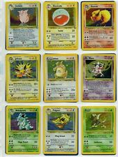 Pokemon Card Full Complete Original Jungle Set 64/64 1999 WOTC incl Holo's
