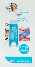 LOTTALUV The Fashion Streak Temporary Hair Color Mess Free! BLUE NIP