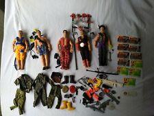 Action Man Figures x 5 Bundle Job Lot Accessories 1996 - 1999 | Dr X | Ninja