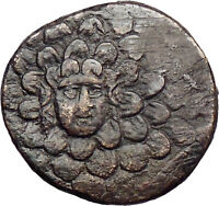 Amisos Time of Mithradates VI 119BC Ancient Greek Coin Nike Gorgon  i30065