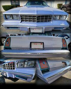1981-1986 Chevy Monte Carlo Bumper Moldings Trim