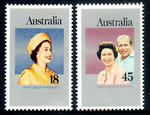 1977 Silver Jubilee of Queen Elizabeth II   Flawless  MNH   $2.90 AND FREE POST!