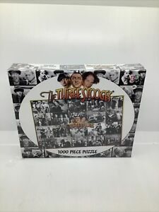 Three Stooges Ladies And Men 1000 Piece Jigsaw Puzzle Go! Games New