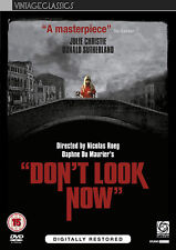 DON'T LOOK NOW TALLY RESTORED DVD Donald Sutherland Hilary Mason Julie  UK R2