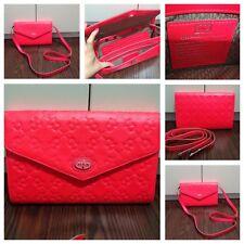 TOUS Bright Pink Clutch/ Cross Body Handbag