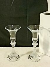 Mikasa Icicles 8 inch candleholders SN047~hard to find and very unique