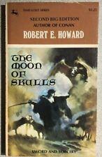 Solomon Kane Moon of Skulls by Robert E Howard (1969) Centaur pb Jeff Jones cvr