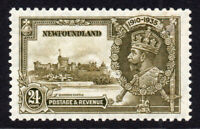 Newfoundland Silver Jubilee 24 cent 1935 Stamp Mounted Mint (4897)