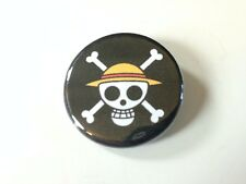 One Piece Symbol Emblem Skull Pirate Anime Manga 1.25 in Pin Button