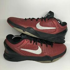 NIKE Zoom Kobe 7 Elite System TB Basketball Shoes sz 10 Gym Red Black VII
