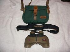 Tasco Sierra,Awg, Vintage, Binoculars W/ Strap & case,Needs Minor Repair,As is