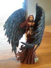 "RARE! Mini Eclipse Dark Angel Faeiry Fairy by Amy Brown 7"" Tall Retired 2005"