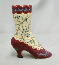 Vintage 1998 Just The Right Shoe Opera Boot By Willitts Designs