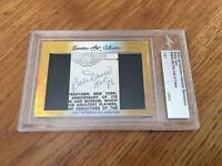 Bobby Doerr 2016 Leaf Masterpiece Cut Signature 1/1 autograph signed card JSA