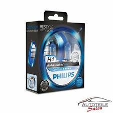 Philips H4 ColorVision Blue Blau +60% Set 2x H4 12V 60/55W 12342CVPBS2