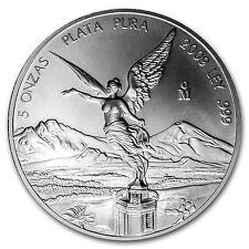 2009 Mexico 5 oz Silver Libertad BU - SKU #54143