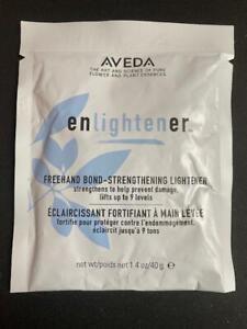 AVEDA Freehand Bond-Strengthening Lightener Powder ENLIGHTENER 1.4oz/40g Balayag