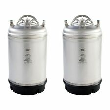 3 Gallon Ball Lock AMCYL Homebrew Kegs 2 Pack New - Relief Valve - Free Shipping