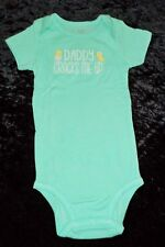 Easter Carters Just One You Daddy Cracks Me Up One-Piece Bodysuit (9 Months) NEW