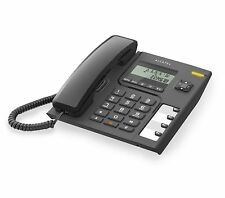 Alcatel T56 Corded Landline Phone - {Black}