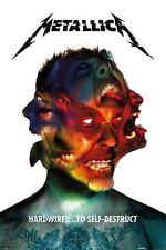 (LAMINATED) METALLICA HARDWIRED ALBUM COVER POSTER (61x91cm)  PICTURE PRINT NEW