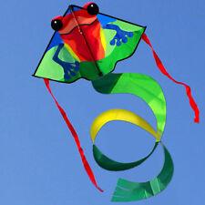 NEW small frog children kites lying for Beginner factory free shipping for kids