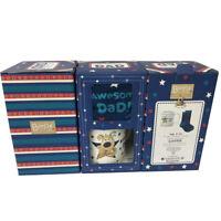Boofle Awesome Dad Mug & Socks Set In A Gift Box