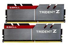 16GB G.Skill DDR4 Trident Z 3000Mhz PC4-24000 CL15 1.35V Dual Channel Kit 2x8GB