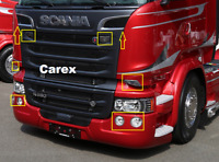 Scania R/P/G Series Truck styling Chrome Cover Set 10 pcs. Stainless Steel
