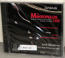 Reference Recordings CD RR-75: Janacek - Makropulos Case - SEREBRIER 1996 USA SS