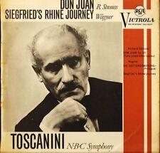 VIC 1022 TOSCANINI strauss don juan/wagner siegfried's rhine journey LP PS VG/VG