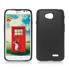 LG Optimus L70 TPU CANDY Gel Flexi Skin Case Phone Cover Frosted + Screen Guard