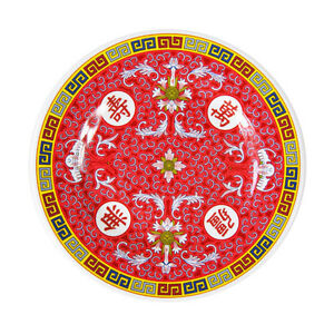 """CHINESE MELAMINE DINING PLATE 8"""""""