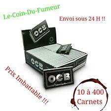 Feuilles à Rouler OCB Double Premium, Lot De 10 à 400 Carnets, Prix Imbattable !