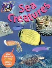 SEA CREATURES, Glow-in-the-Dark Sticker Book (Dark Sticker Books)-ExLibrary
