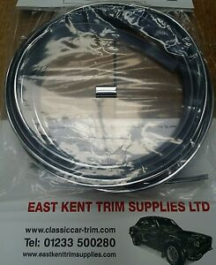 Ford cortina mk2 front screen insert + 1 joiner.