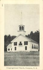 A View Of The Congregational Church, Campton, New Hampshire NH 1953